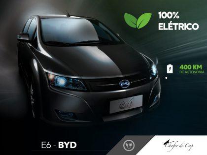 Carro elétrico - E6 BYD